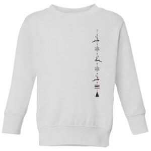 Hanger Kids' Sweatshirt - White