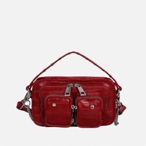 Núnoo Women's Helena Croco Bag - Red