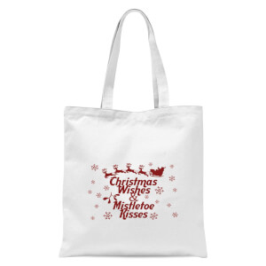 Christmas wishes Tote Bag - White