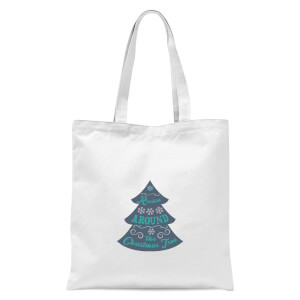 Christmas tree Tote Bag - White
