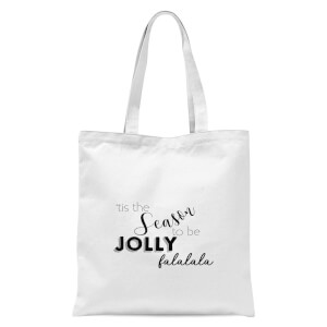 Jolly season Tote Bag - White