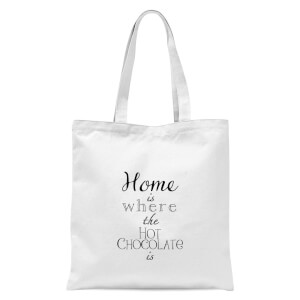 Hot Choc Tote Bag - White