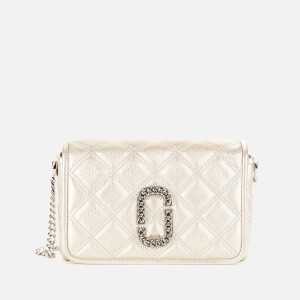 Marc Jacobs Women's Naomi Quilted Chain Bag - Platinum