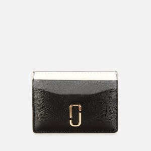 Marc Jacobs Women's Snapshot Card Case - Black Multi