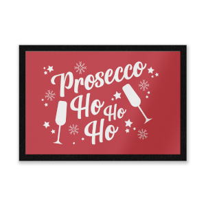 Prosecco Ho Ho Ho Door Mat Entrance Mat