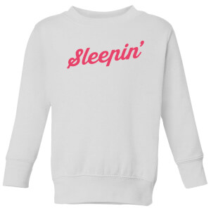 Sleepin Kids' Sweatshirt - White