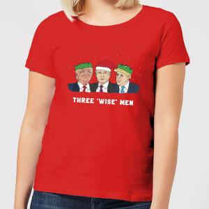 Three 'Wise' Men Women's T-Shirt - Red