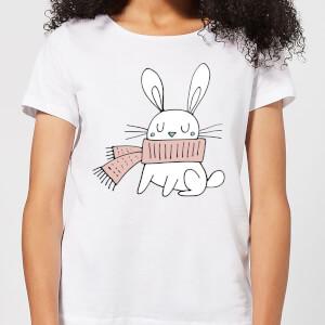 Christmas Rabbit Women's T-Shirt - White