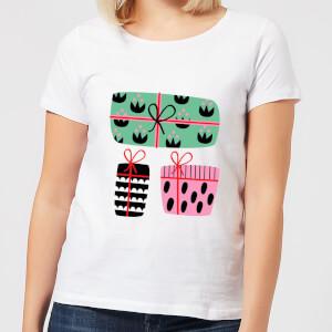 Colourful Presents Women's T-Shirt - White