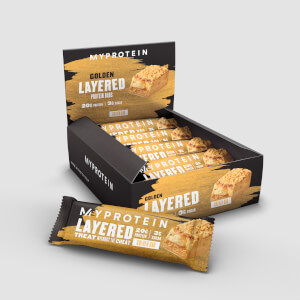 Myprotein Layered Bar, 12x60g Golden Week Bar