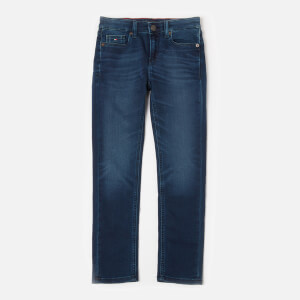 Tommy Hilfiger Boys' Scanton Slim Jeans - Sliga Dark Blue Stretch