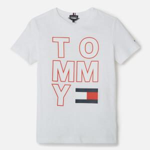 Tommy Hilfiger Boys' Logo T-Shirt - Bright White