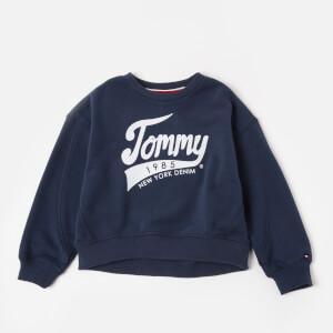 Tommy Hilfiger Girls' Tommy 1985 Sweatshirt - Black Iris