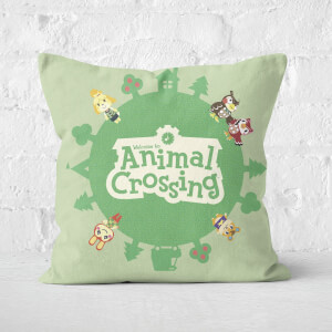 Cuscino Quadrato Animal Crossing