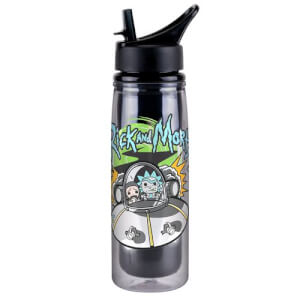 Funko Homeware Rick & Morty Spaceship Acrylic Water Bottle