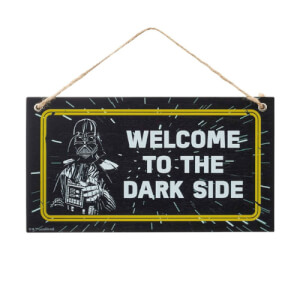 Funko Homeware Star Wars Door Hanger: Welcome to the Dark Side