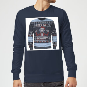 Get Schwifty True Knit Sweatshirt - Navy