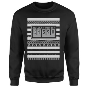 Azkaban Prison Christmas Sweatshirt - Black