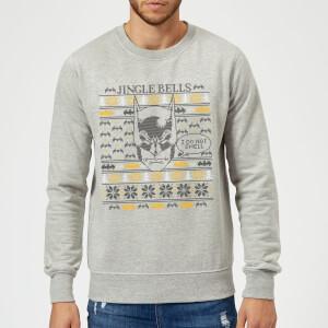 Batman Core I Do Not Smell Christmas Sweater - Grey