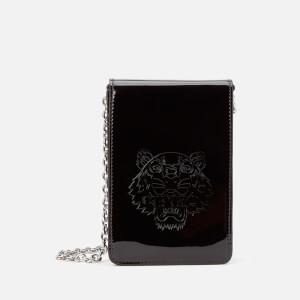 KENZO Women's Irridescent Phone On Chain - Black