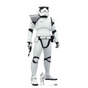 Star Wars (The Rise of Skywalker) First Order Stormtrooper Lifesized Cardboard Cut Out from I Want One Of Those