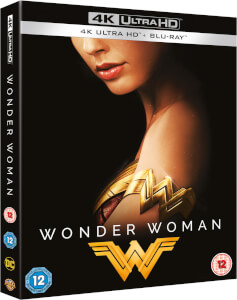 Wonder Woman 4K (incl. Blu-Ray 2D + estuche) - Steelbook Edición Limitada Exclusivo Zavvi