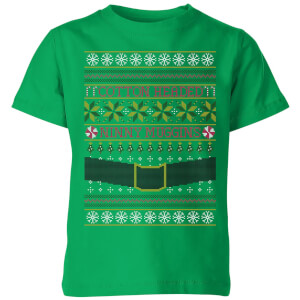 T-Shirt Elf Christmas - Kelly Green - Bambini