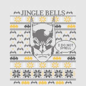 Batman I Do Not Smell Women's Christmas T-Shirt - Grey