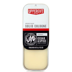 Uppercut Deluxe Solid Cedar and Spice Cologne 15g