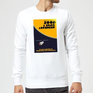 Modern Toss Space Argument Sweatshirt - White