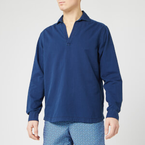 Orlebar Brown Men's Ridley Indigo Wash Sweatshirt - Washed Indigo