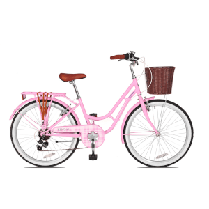 "Insync Kendal 24"" Wheel Girls Bicycle - 13"""