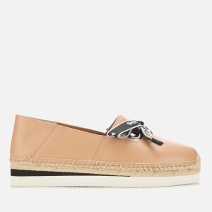 See By Chloé Women's Leather Espadrilles - Rosellina