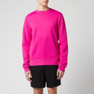 Acne Studios Men's Logo Zip Sweatshirt - Magenta Pink
