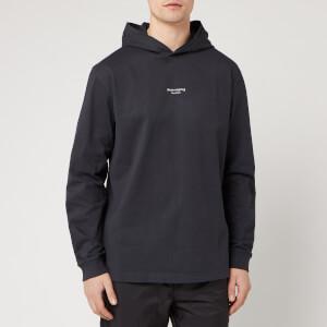 Acne Studios Men's Reverse Hooded Sweatshirt - Black