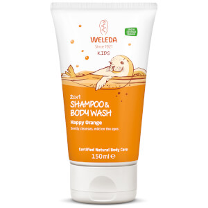 Weleda Kids Shampoo and Body Wash Happy Orange 150ml