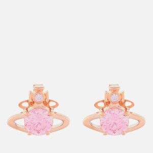 Vivienne Westwood Women's Reina Earrings - Pink Gold/Pink