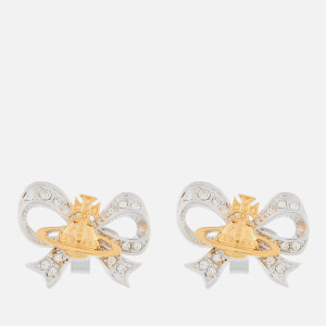 Vivienne Westwood Women's Gail Earrings - Rhodium/Gold Crystal