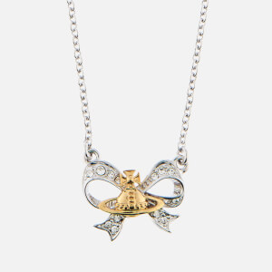 Vivienne Westwood Women's Gail Pendant - Rhodium/Gold Crystal
