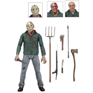 "NECA Friday the 13th - 7"" Action Figure - Ultimate Part 3 Jason"