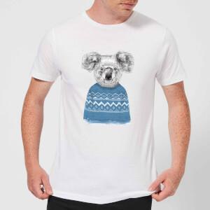 Winter Koala Men's T-Shirt - White