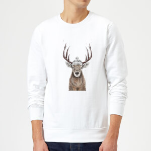 Balazs Solti Lets Go Outside Sweatshirt - White