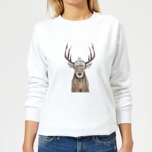Lets Go Outside Women's Sweatshirt - White
