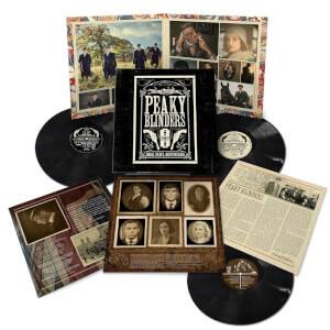 Peaky Blinders OST Series 1-5 3x LP Set