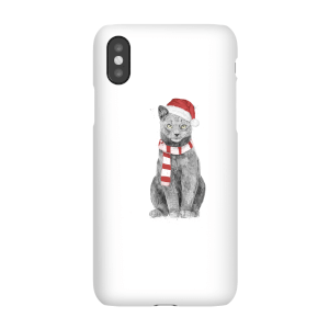 Balazs Solti Xmas Cat Phone Case for iPhone and Android