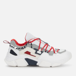 Tommy Hilfiger Men's City Voyager Chunky Trainers - White