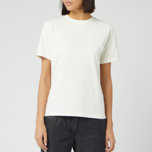 JW Anderson Women's JWA Embroidered T-Shirt - Off White