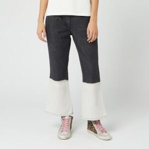 JW Anderson Women's Skinny Flared Jeans - Slate