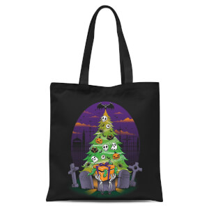 Tobias Fonseca Halloween Is My Xmas Tote Bag - Black