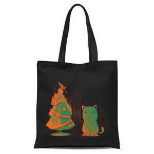 Tobias Fonseca Xmas Miracle Tote Bag - Black